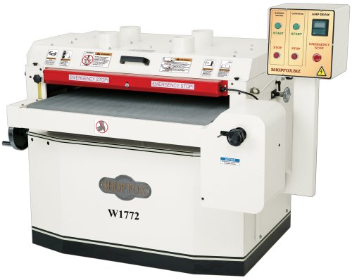 drum sander vs wide belt sander