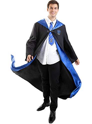 Funidelia | Disfraz Ravenclaw Harry Potter Oficial para Hombre y Mujer Talla M ▶ Hogwarts, Magos, Películas & Series - Color: Negro - Licencia: 100% Oficial