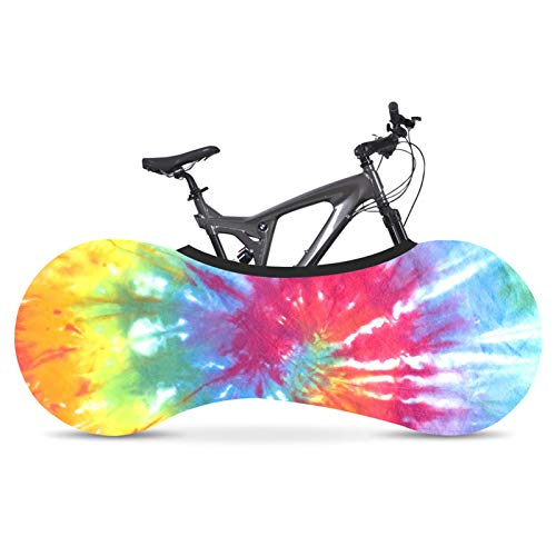 SFGSA Funda para Bicicleta, Cubierta Impermeable para Bicicleta Protección UV Anti Polvo Lluvia Funda Bicicleta Decorativas Cubierta de Bicicleta de Montaña,Style 10