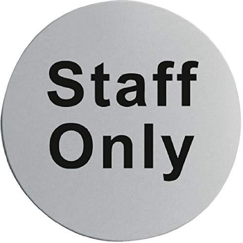 u060Edelstahl Tür sign-staff nur