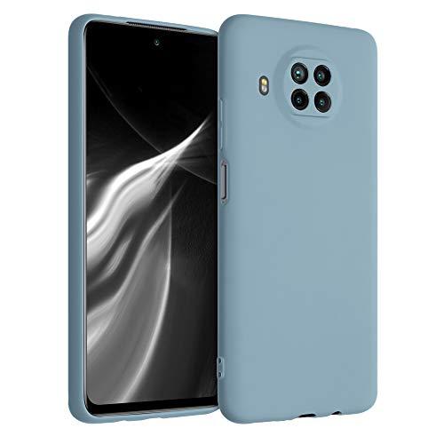 kwmobile Hülle kompatibel mit Xiaomi Mi 10T Lite - Hülle Handyhülle - Handy Hülle in Stone Blue