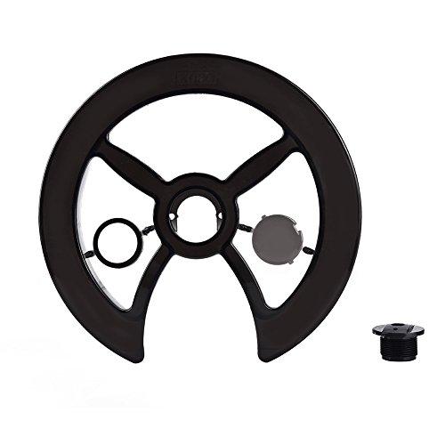 Protector de plato de bicicleta, protector de plato de bicicleta, protector de plato de bicicleta, protector de anillo de cadena de bicicleta para bandeja de dientes de bicicleta 42T, 44T, 46T