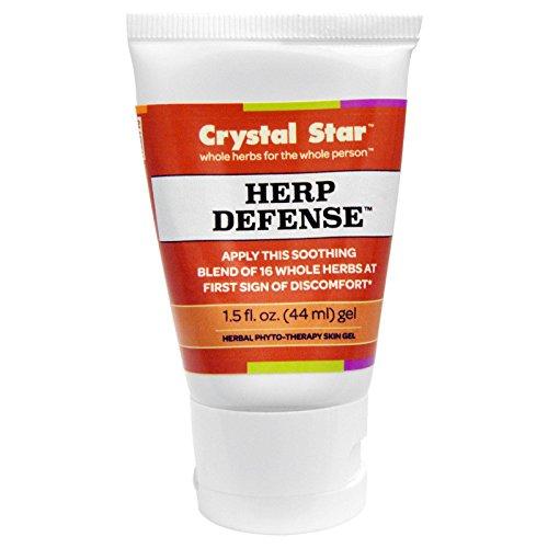 Herp Defense Gel, 1,5 Flüssigunzen (44 ml) - Kristallstern