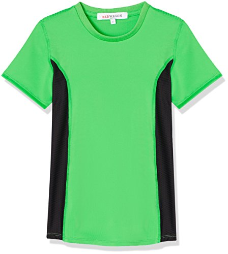 Amazon-Marke: RED WAGON Sport Top Jungen, Grün (Apple Green/Black), 116, Label:6 Years
