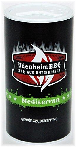 Udenheim Mediterran, Grill und BBQ Gewürzzubereitung 200gr