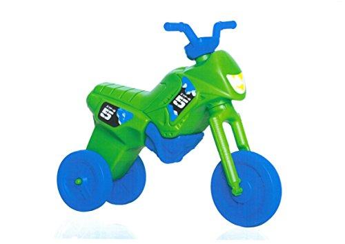 Kids Enduro rr201803máxima de triciclo, Verde/Azul ruedas