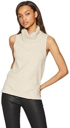 BB Bargain sale Dakota by Steve Madden Baron Sales for sale Women's Sleeveless Turtleneck Ve