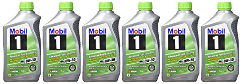 Mobil 1 0W-30 (Advanced Fuel Economy) Synthetic Motor Oil - 1 Quart (Pack of 6)