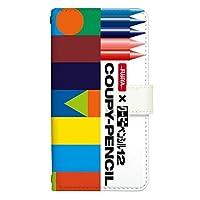 スマホケース 手帳型 アイフォン7ケース 8152-A. デザインA iphone7 ケース おしゃれ かわいい [iPhone7] アイフォンセブン サクラクレパス クレパス 柄 クレヨン 柄 クーピー 柄