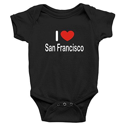 Teeburon I Love San Francisco Body de bebé