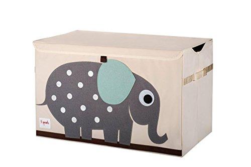 3 Sprouts Aufbewahrungskiste Elefant