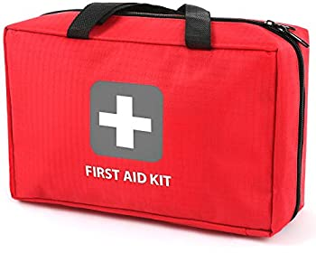 First Aid Kit – 291 Pieces of First Aid Supplies | Hospital Grade Medical Supplies for Emergency and Survival Situations | Ideal for Car Trucks Camping Hiking Travel Office Sports Pets Hunting Home