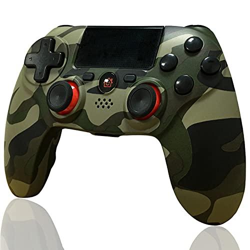 Controller PS4 Wireless, BMSARE Bluetooth PS4 Joystick Gamepad Joypad Controllers per PS4 Pro/Slim con 6 Axis Gyro Sensor e Dual Shock Vibrazione, Audio Microfono e Touch Panel Camuffare