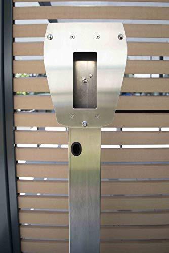 Heidelberg Edelstahlstele - für alle Heidelberg Wallbox Varianten - 3