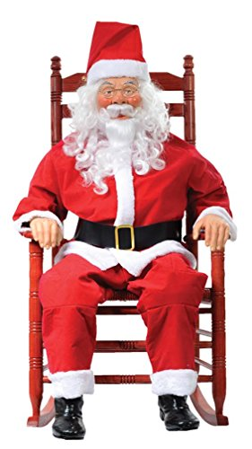 Morris Costumes Mr4124012 Rocking Chair Santa Boxed