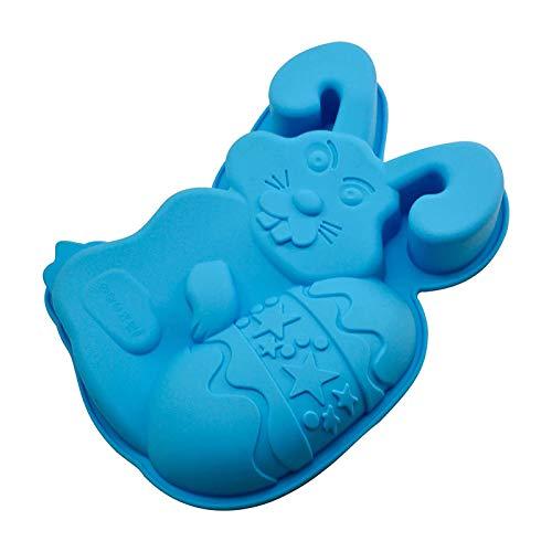 Schokoladenformen, Ostern-Häschen-Ei-Form, 3D Niedliches Kaninchenei Ei Machen Werkzeug Non-Stick Silikonform Kuchen Topper Dekorieren Werkzeug Dinosaurier Eier Diy Form Für Kuchen, Gelee, Pudding