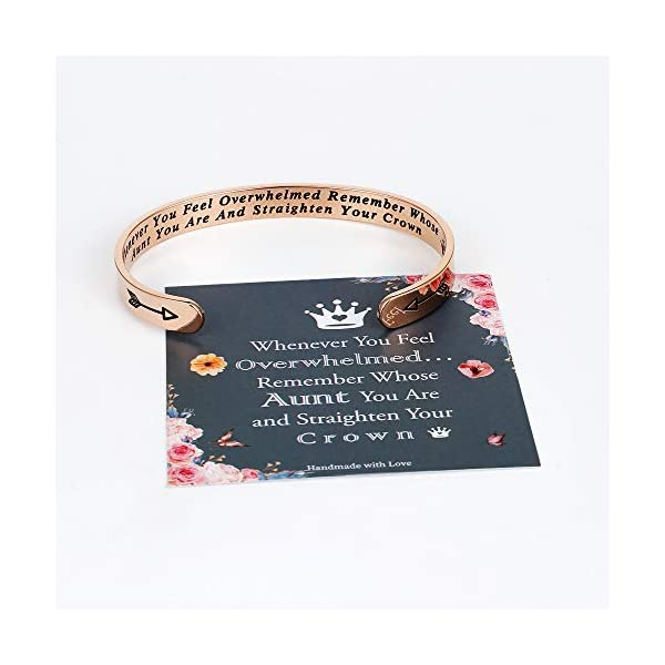 Whenever You Feel Overwhelmed Remember Whose Straighten Your Crown Bracelet, Engraved Inspirational Bracelets Personalized Gift for Mom, Daughter, Granddaughter, Sister, Best Friend, Girls and Women