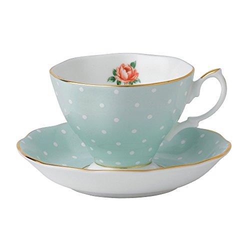 Royal Albert Polka Rose Vintage Tea Cup and Sosa por TCS (Japan Import)