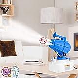 4YANG Fogger eléctrico ULV 5L Pulverizador ULV Eléctrico 1200W Atomizador portátil Volumen Pulverizador Soplador nebulizador de pesticida con soplador de Niebla Fina 8-10 m Distancia