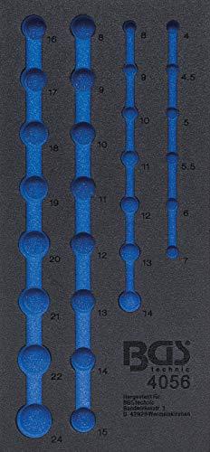BGS 4056-1 | Insert de servante d'atelier 1/3, vide | pour art. 4056