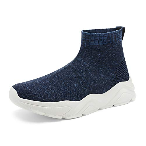 DREAM PAIRS Navy Women's Lightweight Fashion Sock Sneakers Casual Walking Shoes Size 6.5 M US CITYGIRL-1