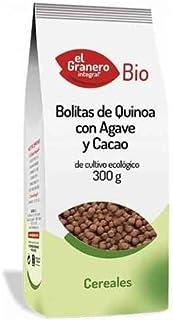 Granero Bolitas De Quinoa Con Agave Y Cacao Bio 300 Gr Envase De 300 Gramos 300 ml