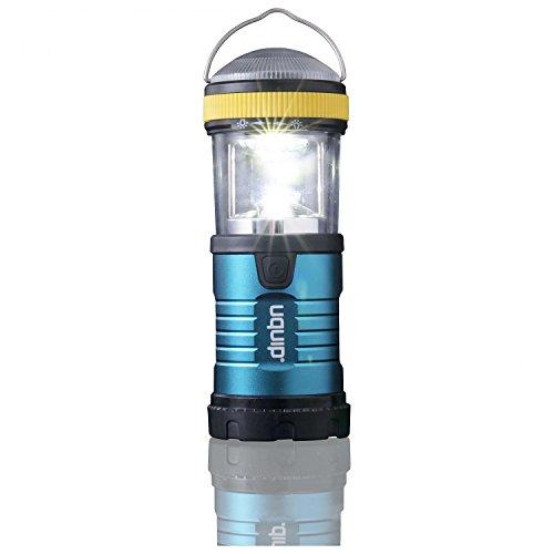 Uquip Wally LED Taschenlampe mit Karabinerhaken - Helle Zelt-Lampe 200 Lumen