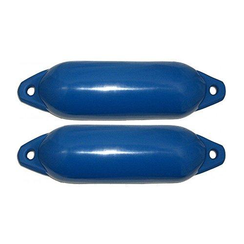2er-Set Majoni Bootsfender Star 15 - Farbe blau, Länge 45cm