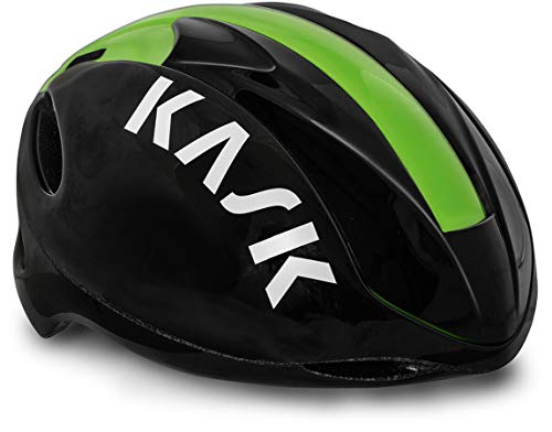 Kask Infinity Helm schwarz/grün Kopfumfang M | 48-58cm 2020 Fahrradhelm