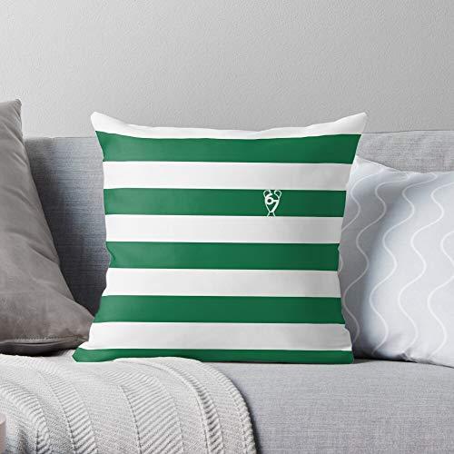 European Football Glasgow Celtic Fc Scottish Cup Scotland Premiership - Retro - - Pillow Square Cushion Cover for Bedroom Sofa Living Room !! Customize