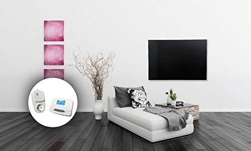 HoWaTech Infrarot Glasheizkörper 60x120cm 1050W Heizpaneel mit Funkthermostat kaufen  Bild 1*