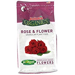 Jobe's 09423 Organics Flower & Rose Granular Fertilizer