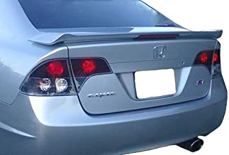 Accent Spoilers- Spoiler for a  Honda Civic 4-Door SI Factory Style Spoiler-Taffeta White Paint Code: NH578