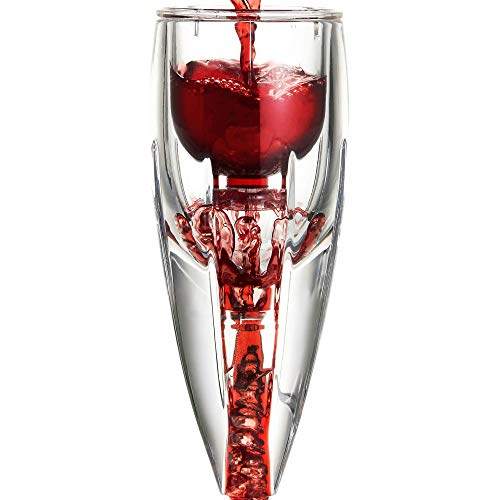 Vintorio Wine Aerator OMNI Edition - Premium Decanter For Wine Lovers - With Gift Travel Pouch