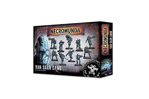 Warhammer Games Workshop Van SAAR Gang Necromunda