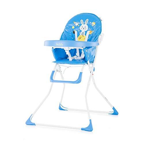 Kinderstoel teddy blue