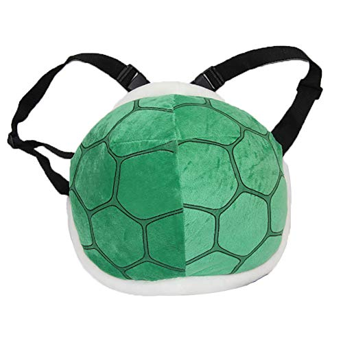 1pc Green Shell Bag Super Mario Tortoise Shell Plush Backpack Super Mario Bros Cosplay Costume for Kids Children Adult
