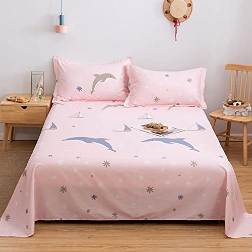 DSman Protector de colchón/Cubre colchón Acolchado, antiácaros, Sarga Simple Estampada de algodón -7_150 * 200cm
