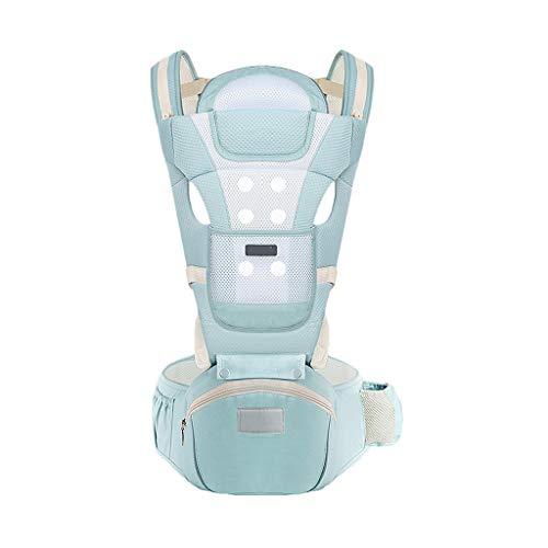 Multifonctionnel Porte-bébé Siège pour bébé Sac à Dos pour bébé 0-36 Mois Stockage en Coton Respirant ( Color : B )