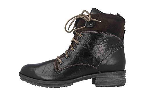 Josef Seibel Damen Sandra 83 Combat Boots, Schwarz (Schwarz Pl88 100), 37 EU