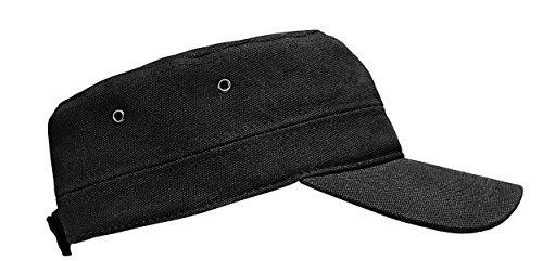 Stöhr Erwachsene Cuba Cap Kappe, schwarz, One Size