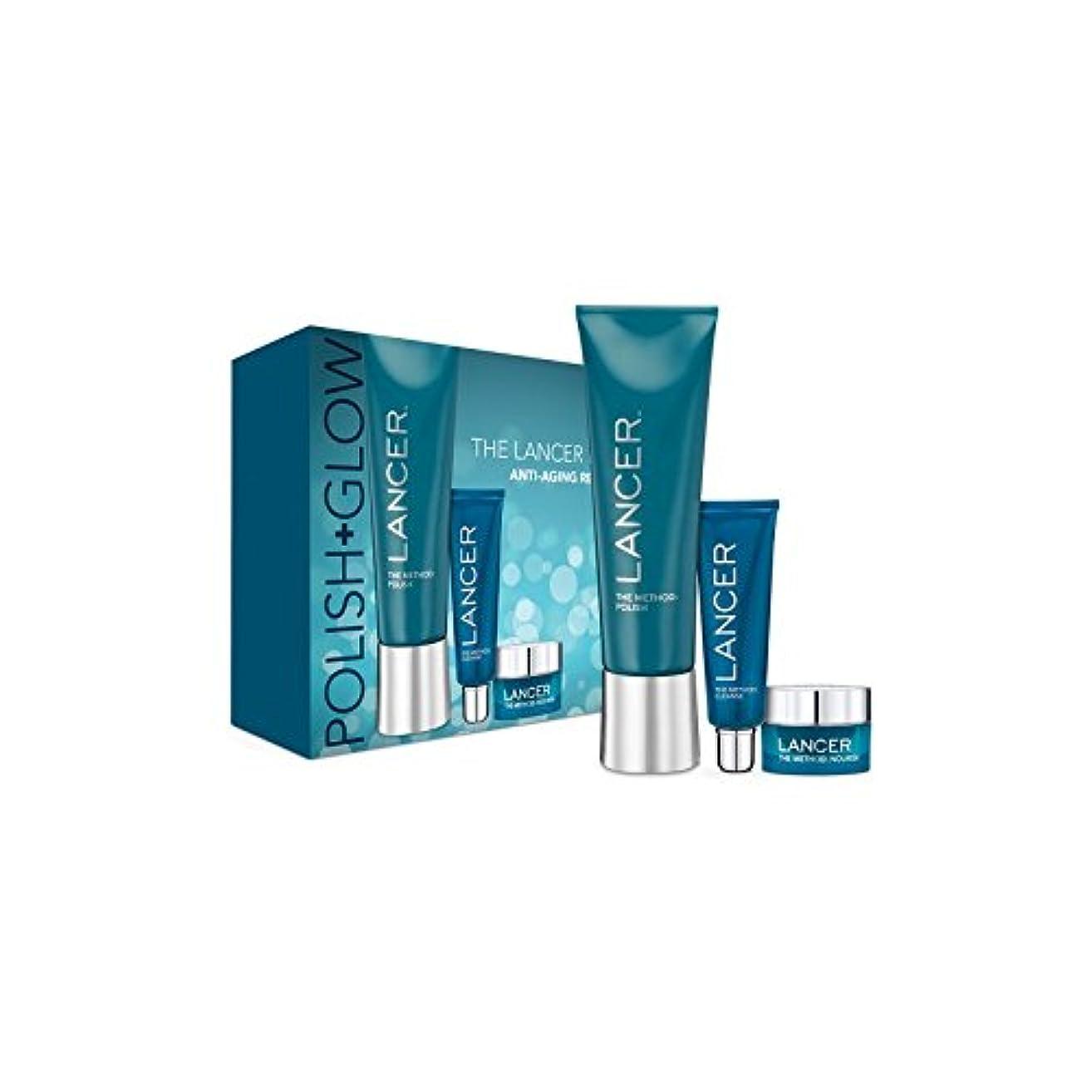 頼む乞食弱点Lancer Skincare The Method: Polish & Glow (Pack of 6) - ランサーは、この方法をスキンケア:ポリッシュ&グロー x6 [並行輸入品]