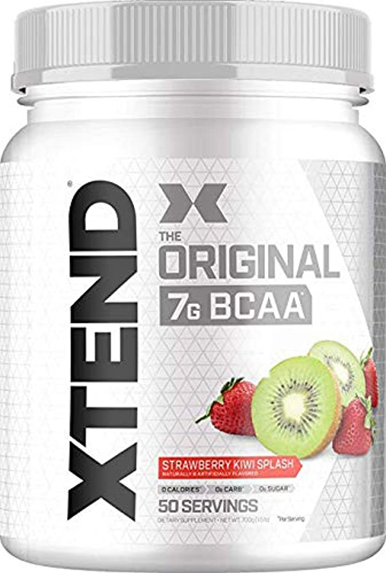 衣装遮るおじいちゃんScivation Xtend BCAA 50杯分 (ストロベリーキウィ) Strawberry Kiwi 【海外直送品】