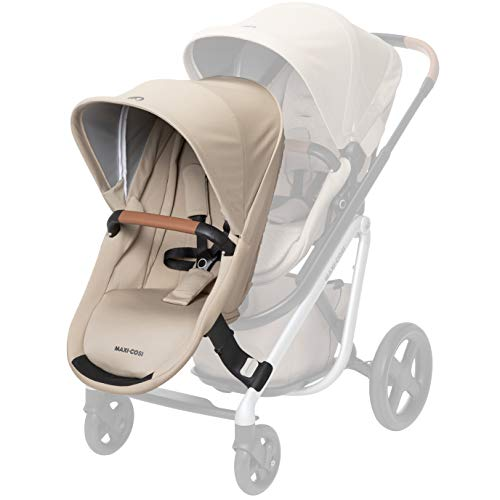 Maxi-Cosi Lila Modular Stroller Duo Seat Kit with Car Seat & Stroller Adapters, Nomad Sand, One Size