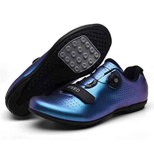 HONG YU MTB SPD Zapatos de la Grapa del Conjunto de Pedales...