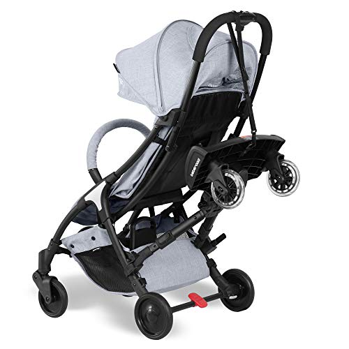 beberoad2イン1ベビーカーボード取り外し可能シート付快適乗り心地上15ヶ月〜5年の子供に適用