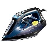 Fer à Repasser Vapeur 2500W, Decen Fer à Vapeur avec Plaque en Nanocéramique, Fonction Pressing...
