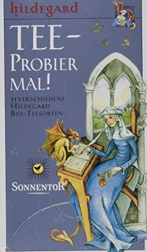 Sonnentor Hildegard Tee-Probier mal! bio, Doppelkammerbeutel, 1 Packung, 20 Beutel (29 g)