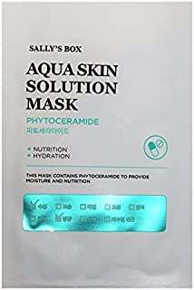 Sally's Box Aqua Skin Solution Mask - Phytoceramide - Nutrition & Hydration - 10 Masks in Total