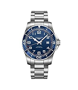 Longines Hydro Conquest Blue Dial Stainless Steel Mens Watch L36954036 image